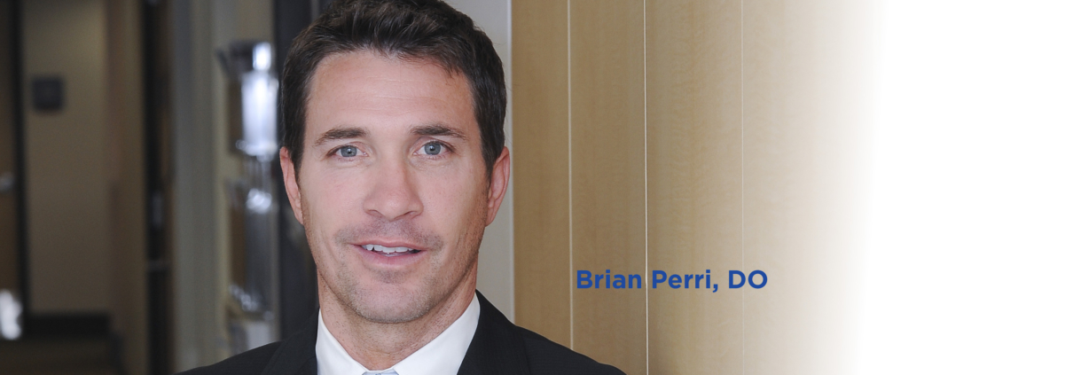 Headshot of doctor Brian Perri who benefits from using bundled payments with his patients.